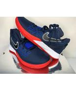 NEW SIZE 9.5 MEN Nike Kyrie Irving Flytrap II USA Red White Blue Basketb... - $88.88