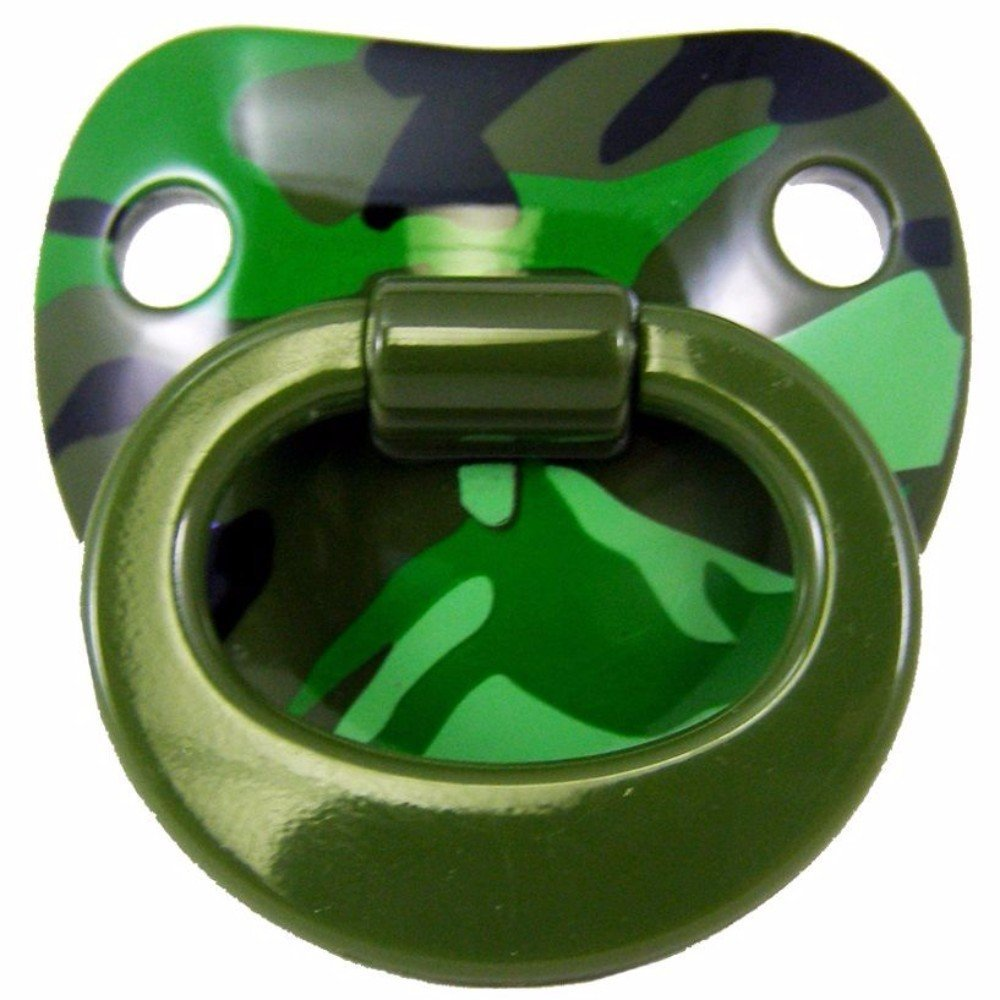 Primary image for Billy Bob Funny Teeth Pacifier for Babies (GREEN CAMO)