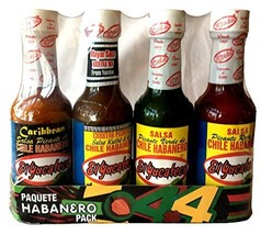 El Yucateco 4 Habanero Hot Sauces Gift Pack, 4 Items - $18.76
