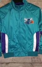 NBA Hardwood Classics Charlotte  Hornets Jacket Size M Youth - $30.00