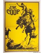 Western Movie Poster J.W. COOP 1973 Cinema Art Josef Duchon Graphic Desi... - $212.00