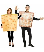 Fun World Cheese & Cracker Adult Couples Costume STD (STD. Up to  6' / 2... - $52.35