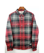 THE NORTH FACE MENS SIZE SMALL CAMPSHIRE SHERPA LINED JACKET GIFT RED CO... - $81.18