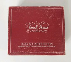 Trivial Pursuit Game Baby Boomer Edition Card Set 1980s - $6.34