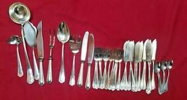 Vintage Group of 38 Silverplate (Prata 90 Wolf) Flatware Set #6396 - $79.00