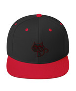 "Ripkitty ""Grinning Cat"" Red Black Snapback Antonio Forelli Memphis Rap - $27.31"