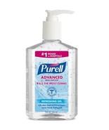 PURELL® Advanced Gel Hand Sanitizer, Clean Scent, 8 oz. (9652-12) Case o... - $100.00
