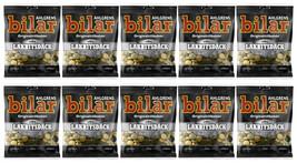 Ahlgrens Bilar Lakritsdäck - Soft licorice tires 110g x 10 - Swedish Candy - $47.52
