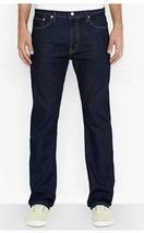 Levi's Men's 513 Slim Straight Fit Jeans, Dark Wash, 36 X 30 - $32.66