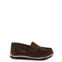 Boy's Rilo leather brown slip-on moccasins - $38.98