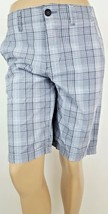 American Eagle Longboard Gray Plaid Men's Shorts Size 30 - $13.88