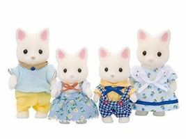 *Sylvanian Families dolls silk cat family FS-12 - $27.03