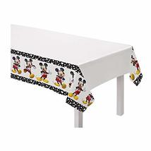 Mickey Mouse Plastic Tablecover - 1 Pc - $6.88