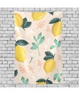 Usa Wall Decor Yellow Lemon Pattern Dacoration Pattern Hanging Decor Wal... - $26.00