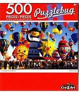 Cra-Z-Art Fun Shaped Hot Air Balloons - 500 Piece Jigsaw Puzzle - Puzzlebug - $10.38