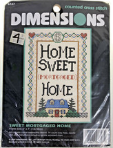 Dimensions Home Sweet Home Stitch Kit - $9.58