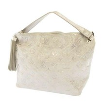 LOUIS VUITTON Monogram Shimmer Halopesh Tassel M95820 LV Handbag France - $806.05