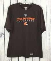 Cleveland Browns Reebok Speed Wick Play Dry T-Shirt Size S NFL Football ... - €12,73 EUR