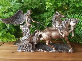 SCULPTURE - chariot of the goddess NIKE - VERONESE   (WU72736A4)  - $74.25