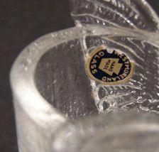 Vintage Westmoreland Glass Owl Toothpick Holder with label image 7