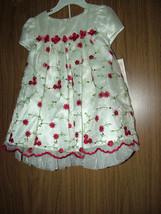Bonnie Baby Girls Holiday/Party/Wedding 2 Pc Dress Set, Muticolor,Sz.18-... - $21.99