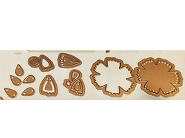 Spellbinders Shapeabilities D-Lites Crafty Flower Six Die Set #S2-173 image 2