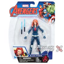 "Black Widow, Marvel 5"" Inch Avengers Figure, Hasbro, New! - $8.99"