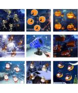 Outdoor Light Projector Christmas Halloween LED Waterproof Snow Lights S... - $58.97