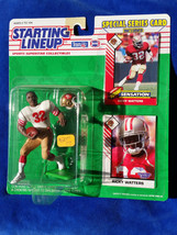 Ricky Watters FP - 1993 Starting Lineup NFL Action Figure with card - 49ERS - $10.40