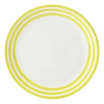 Kate Spade  Charlotte Street  With A Twist Yellow Round Platter - $69.29
