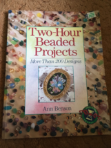 Beading Book, Seed/Bugle Beads, 200 Designs, An... - $10.00