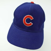 Chicago Cubs Baseball New Era 100% Wool Fitted 7 1/8 Adult Baseball Ball Cap Hat - $17.81
