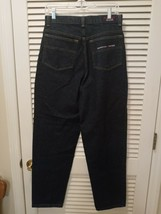 Vintage Tommy Hilfiger Jeans Size 20 Dark Wash Heavy Denim Blue Jeans - $24.99