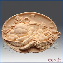 2D Silicone Soap Mold - Fruitful Harvest - Free Shipping - $36.62
