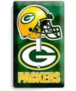 GREEN BAY PACKERS FOOTBALL SINGLE LIGHT SWITCH WALL PLATE BOYS ROOM MAN ... - $8.99
