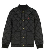 NEW POLO RALPH LAUREN BOYS QUILTED LIGHTWEIGHT BLACK JACKET 6 - $59.39