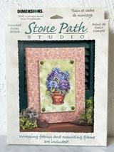 Dimensions Stone Path Studio Hydrangea Basket #72845 Counted Cross Stitc... - $16.10