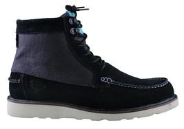 Diamond Supply Black Suede G.I. Ankle Moc Work Boots NIB image 2