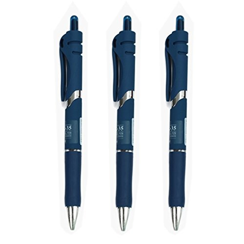 Primary image for Dozen Box, Noble Meeting Special Gel Ink Roller Ball Pens, Deep Blue Ink