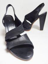 9 450 Sz leather us Italy heels Clog 5 RACHEL platform 5 Black COMEY 8 px8wqRrp