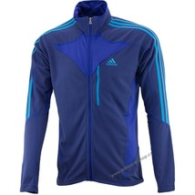 NEW Adidas Terrex SWIFT COCONA FLEECE FULL Zip RUNNING JACKET XL $75 BLUE X20270 - €43,32 EUR