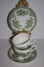"Two Sets of Enoch Wedgewood /Tunstall Ltd. England ""Kent"" Teacups and Sa... - $26.15"