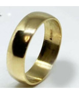 Polished Wedding Ring Band In 14k Yellow Gold (6mm) - $423.22