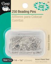 Dritz Beading Pins 250/Pkg-Size 14 - $6.50