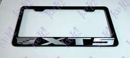 For XT5 Cadillac Stainless Steel Black License Plate Frame W/ Bolt Caps - $12.86