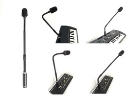 SHOCK ELECTRONIX GM3 XLR DYNAMIC GOOSENECK MICROPHONE FOR KORG KINGKORG ... - $39.50