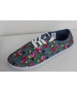 Comfort Ease women's sneakers blue flowers size 8 M - $17.59