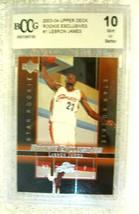 Lebron James RC 2004 Fleer USA Rookie Card GEM BGS 9.5! Cavaliers RC image 10