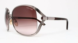New Tom Ford TF40 G43 Silver Authentic Sunglasses 62-17-120 - $106.65