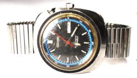 Men's Seiko Bellmatic Automatic Alarm Day Date Wristwatch 39mm 4006-6029 - $197.99